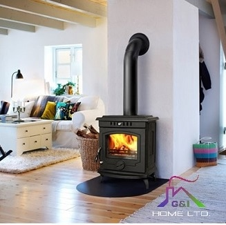 Glendine Matt Black 8kW