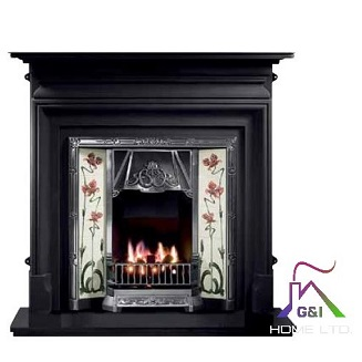 Palmerston 54″ (Black) Surrounds only