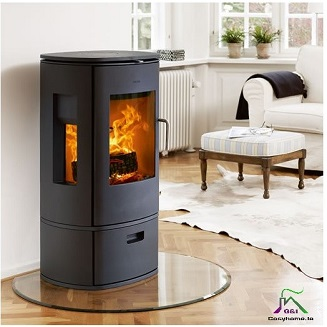 1100mm x 950mm TRUNCATED GLASS HEARTH