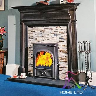 The Alpha Inset Boiler (Black Enamel) 14.2kW