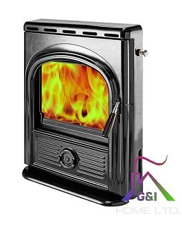 The Alpha Inset (Black Enamel) 4.9kW