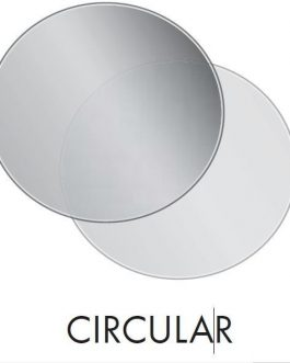 1100mm diameter GLASS HEARTH CIRCULAR