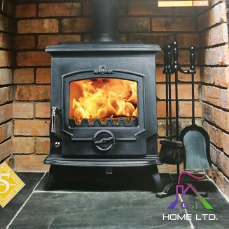The Victoria (Black Enamel) 7kW
