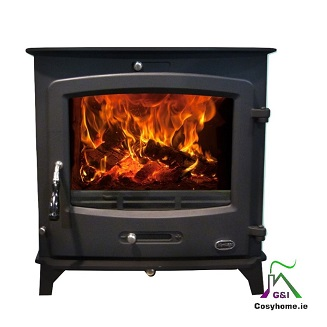 The Glenveagh 30kW Boiler Stove (Black Matt)