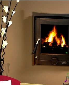 The Pollmore Inset 7kW (Black Matt)