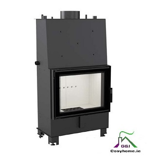 Lucy 12kW Insert Boiler Stove