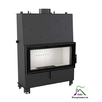 Lucy 20kW Insert Boiler Stove