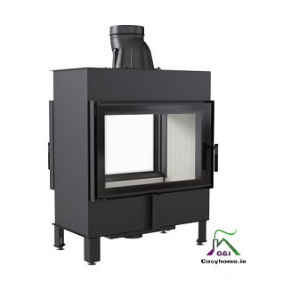 Lucy 14kw Double Sided Insert stove