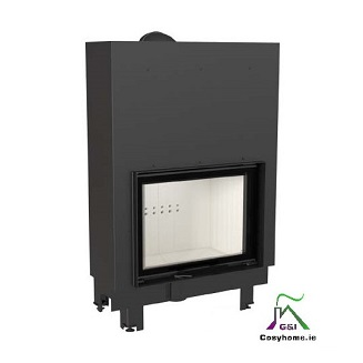 MBA 17kw Lift up Glass Insert stove