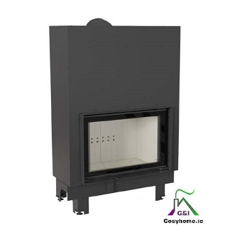 MBO 15kw Lift up Glass Insert stove