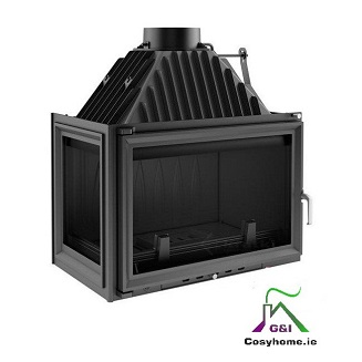 Oliwia 18kw Left Side Glass Insert stove