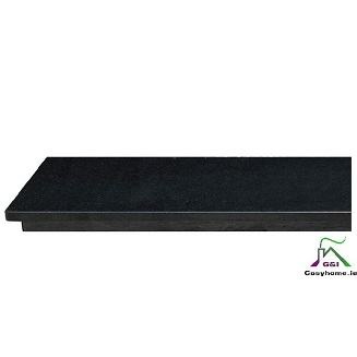 Polished Granite XL Jointed&Filled Hearth 54″x20″