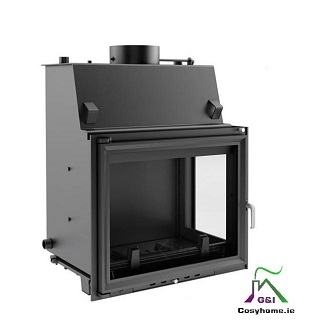 Amelia 24kW Right Side Glass Insert Boiler Stove