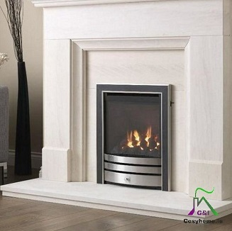 Cressida Glass HE-Slider Gas fire