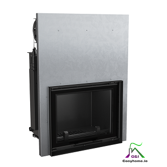 Amelia 30kW Lift Up Glass Insert Boiler Stove
