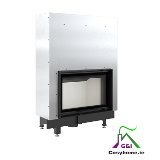 Zibi 12kw Lift Up Glass Insert Stove