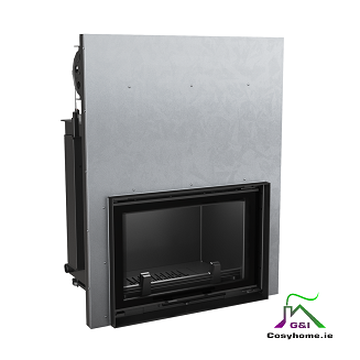 Oliwia 17kW Lift Up Glass Insert Boiler Stove