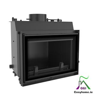 Wiktor 12kW Deco Insert Boiler Stove