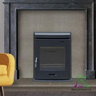 STI Matt Black 5kW Insert stove