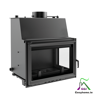 Oliwia 22kW Right Side Glass Insert Boiler Stove