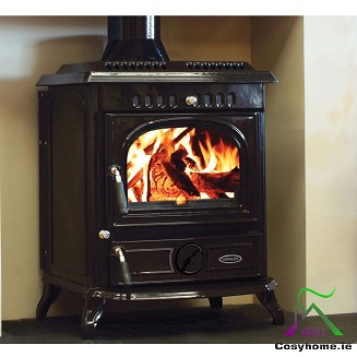Blasket 21kW Black Enamel Boiler stove