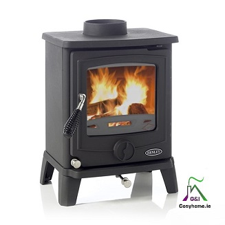 Cambridge 7.5kw Matt Black stove