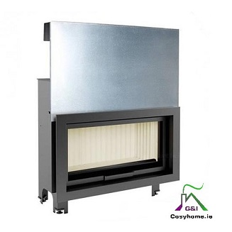 Mila 16kw Lift Up Glass Insert stove