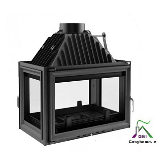 Oliwia 18kw Four Sides Glass Insert stove