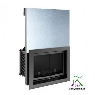 Oliwia 18kw Lift Up Glass Insert stove