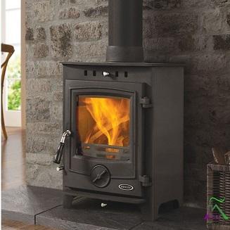 Thames 4.5kw Matt Black stove