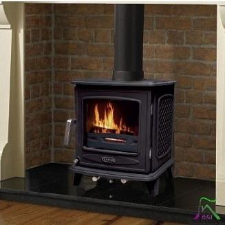 Ascot 5kw Black Enamel stove