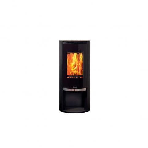 Elite G1 7kw Metallick Black Log Box stove