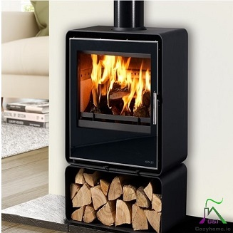 Orion 400 5kw Black Glass stove