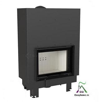 MBM 10kw Lift Up Glass Insert Boiler Stove