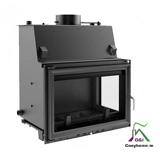 Oliwia 17kw Right Side Glass Insert Boiler stove