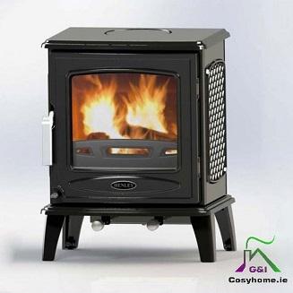 Ascot 7kw Matt Black stove