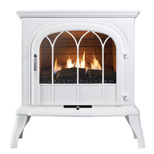 ekofires 6010 gas stove white with arched door1