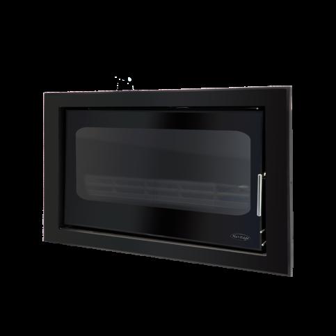 Clare Cassette Landscape 8kW – Black Glass