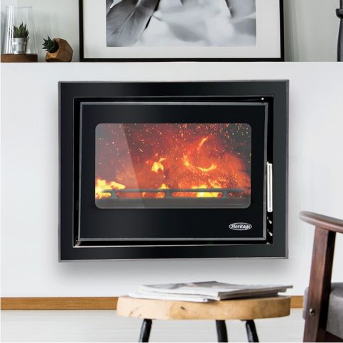 Clare Cassette 5 kW – Black Glass