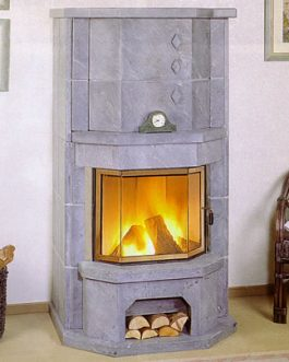 Soap Stone Fireplace
