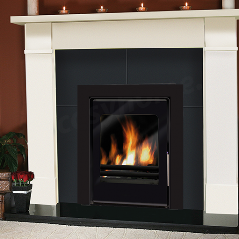 Fireplace set Flat Victorian + Ares 6 kW Cassette