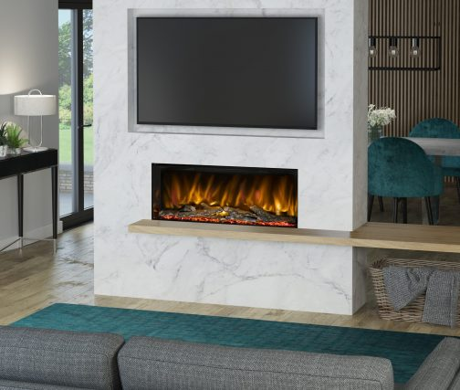 PRYZM ARTEON 1000-3SL One SIDED ELECTRIC FIRES