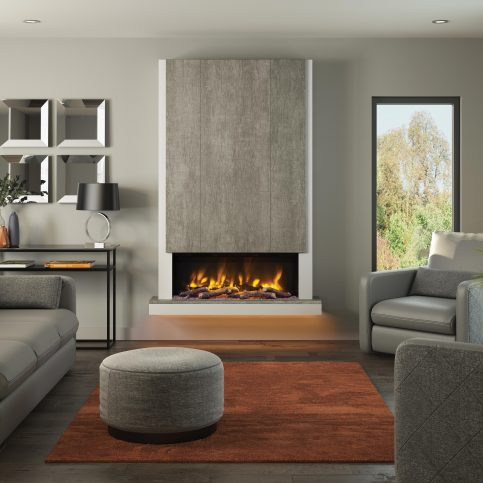 CAMINO PRYZM Electric Fireplace suite 53″