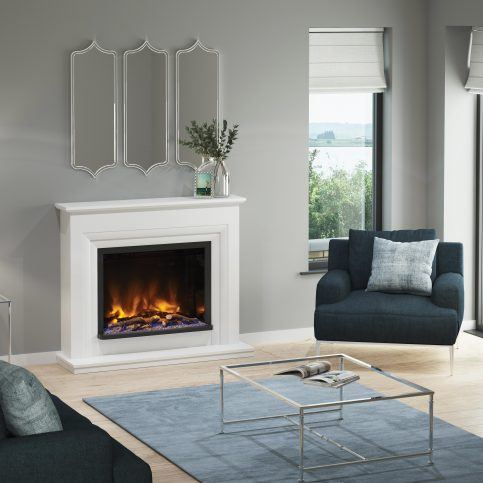 VELINO PRYZM Electric Fireplace suite 52″