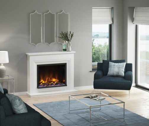"""VELINO PRYZM Electric Fireplace suite 52"""""""