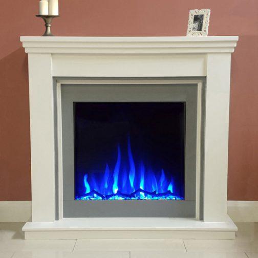 Ezee Glow Celestial 800 Electric Inset Fire blue