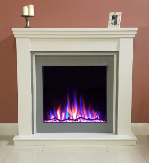 Ezee Glow Celestial 800 Electric Inset Fire mixed