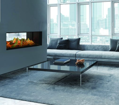 Evonic Halo Lindstrom Double Sided Electric Fire